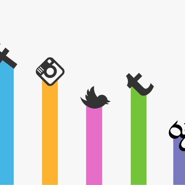 Social media icons - image: Sumall.com