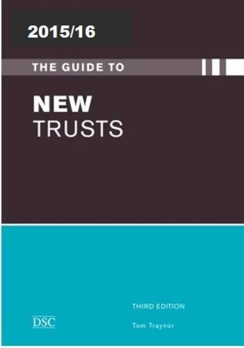 2015/16 The Guide to New Trusts - Directory of Social Change