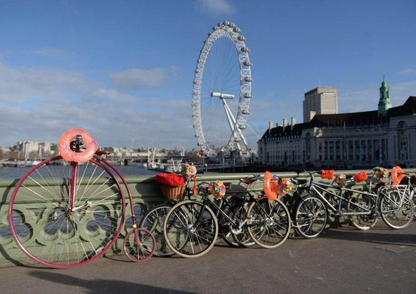 Launch of BHF London to Brighton Bike Ride - Photo: Anthony Devlin/PA Wire