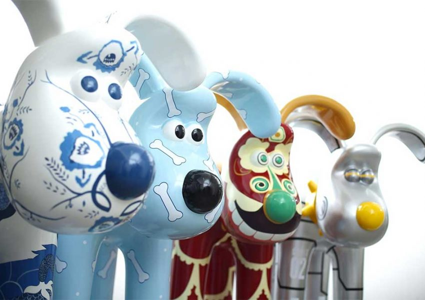 Gromit Unleashed in Hong Kong