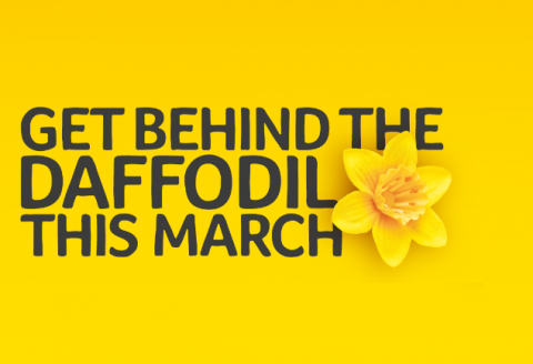 Get behind the daffodil this March