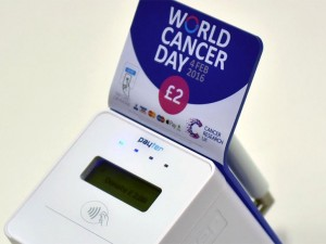 Cancer Research UK to hold contactless collections on World Cancer Day