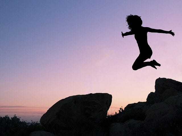 Girl jumps Fundraising