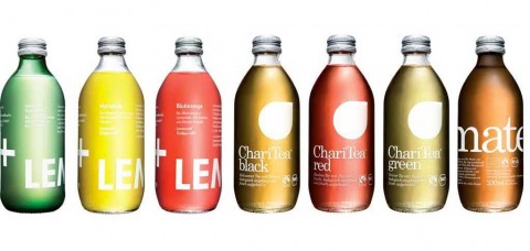 LemonAid and ChariTea bottles