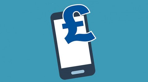 Mobile payment in pounds - image: Welf Aaron on Shutterstock.com