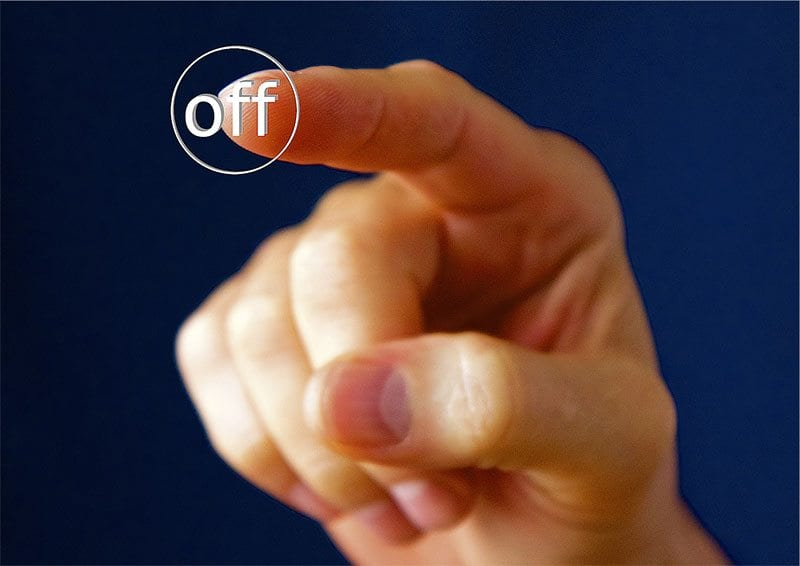 Off button - photo: Pixabay.com