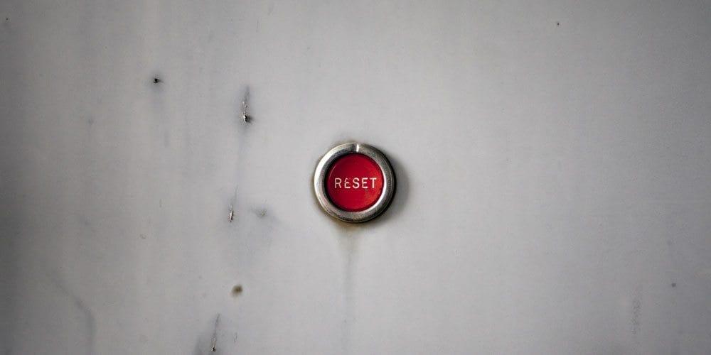 Reset button - Rob Dobi on Shutterstock.com