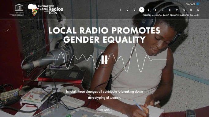 UNESCO radio