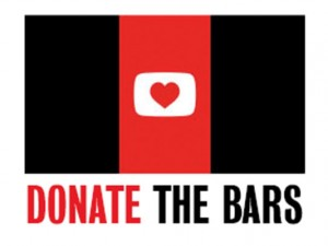 Donate the Bars turns vertical video blank space into charity promotions