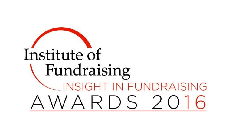 IoF Insight in Fundraising Awards 2016