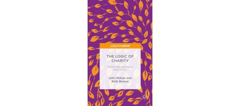 The Logic of Charity - book cover