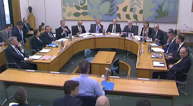 Parliamentary Select Committee: photo - Civil Service World