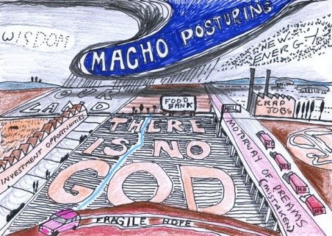Grayson Perry Postcard for Syria