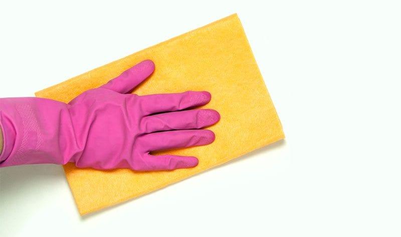 Spring clean wipe