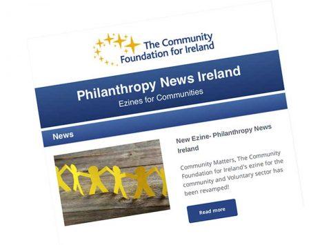 Community Foundation Ireland newsletter April 2016