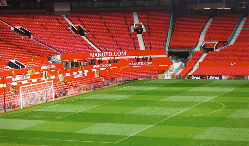 Manchester United at Old Trafford - photo: Pixabay