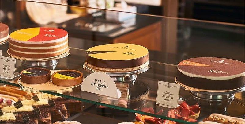 Paul Bittersweet pies cakes