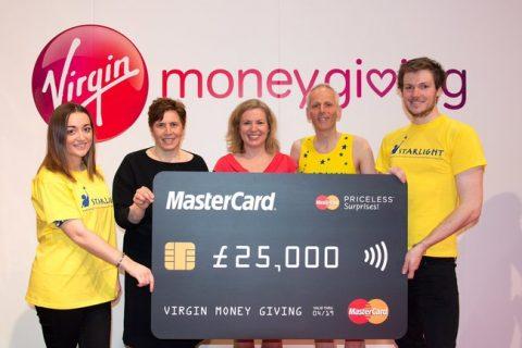 Starlight Virgin Money Giving