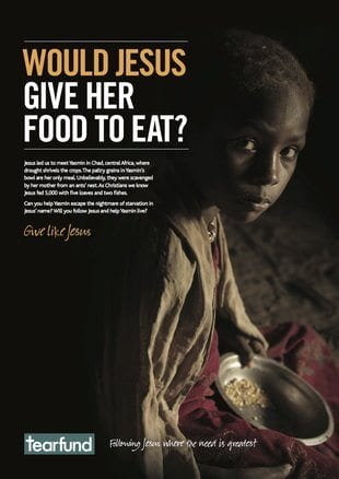 tearfund would jesus give her food to eat