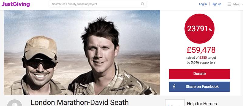 London Marathon David Seath