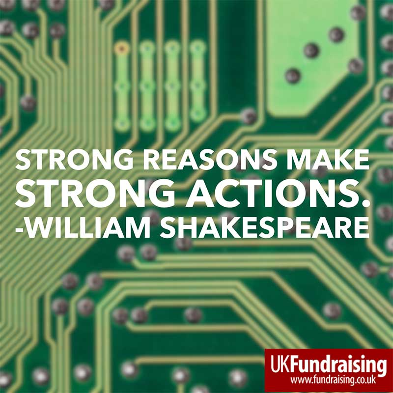 Strong reasons make strong actions