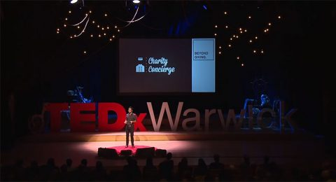 Thomas Muirhead at TEDx Warwicj on the overhead myth