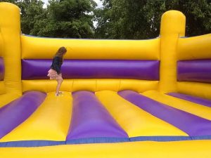 Ten tips to help children stay safe on bouncy castles at fundraising events