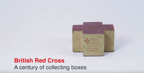 British Red Cross - a century of collecting boxes