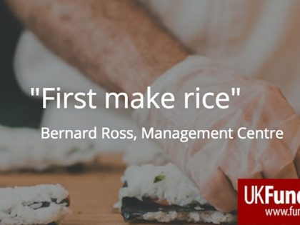 'First Make Rice' to succeed in arts fundraising