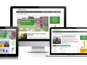 NSPCC relaunches its tribute fund website