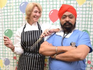 Doctors raise awareness & funds for hospital with charity cook off