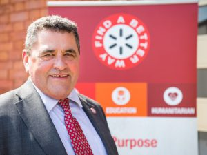 Veteran landmine campaigner appointed CEO for Find a Better Way