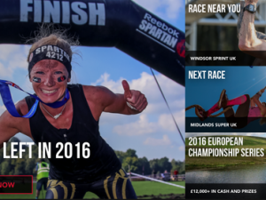 Virgin Money Giving partners with Reebok Spartan Race