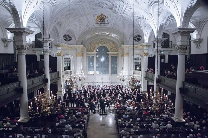 Brandenberg Choral Festival at St Martin-in-the-Fields, Trafalgar Square