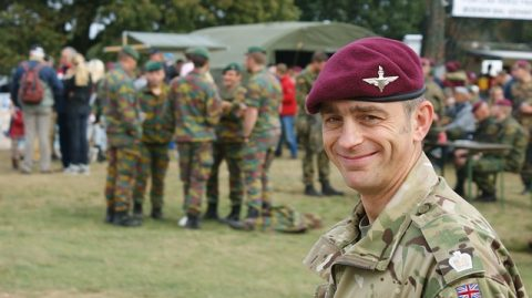 English soldier