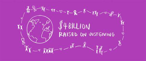 JustGiving raises $4 billion globally in 15 years