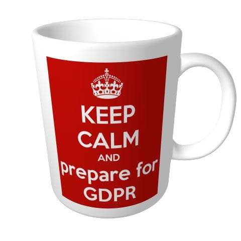 Keep Calm and prepare for GDPR - mug - from The Keep Calm-o-matic