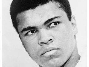 Drawing inspiration for fundraising from Muhammad Ali