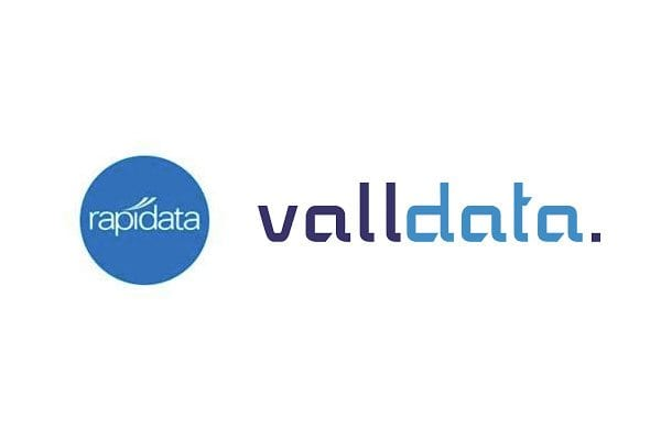 Valldata and Rapidata logos