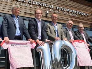 Cure Leukaemia attempts world record in campaign to raise funds