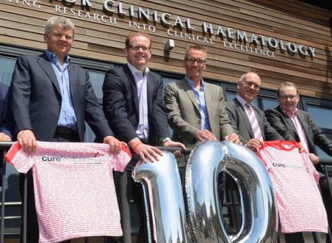 Cure Leukaemia 10th anniversary