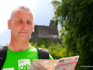 One man's challenge to walk 240 miles for Christians Against Poverty