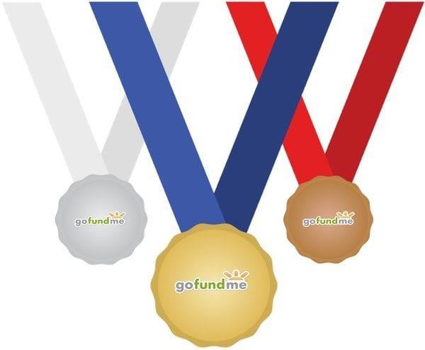 GoFundMe medals