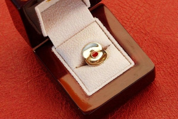 Poppies made from shell casings commemorate 100th