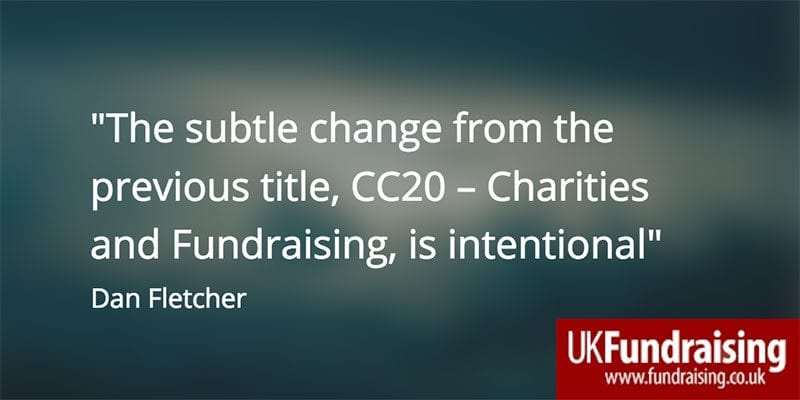 CC20 subtle change quotation by Dan Fletcher