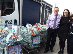 Tesco donates food to mosques to mark Ramadan