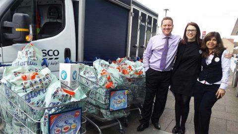 Tesco food donation for Ramadan