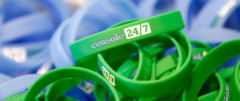 Console Ireland wristbands - photo: Console Ireland