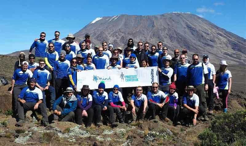 Deloitte charity staff climb Mount Kilimanjaro for charity partners