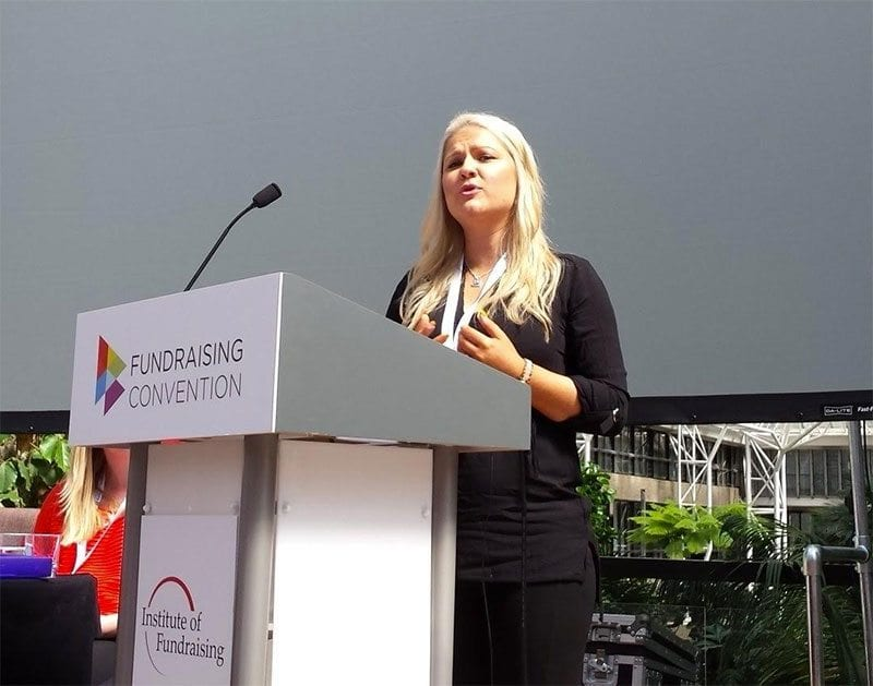 Lauren Semple at Fundraising Convention